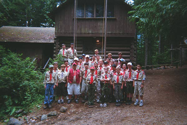 Camp Parsons, July 2000