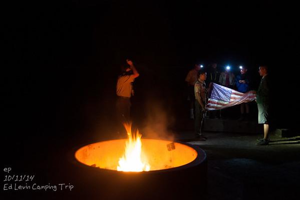Retiring a flag