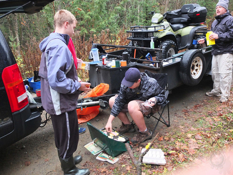 Gear Pig Camp in Madawaska Highlands