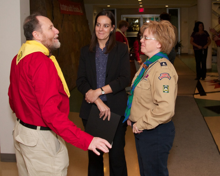 Recognition of Al Griffin's 70 years of Scouting