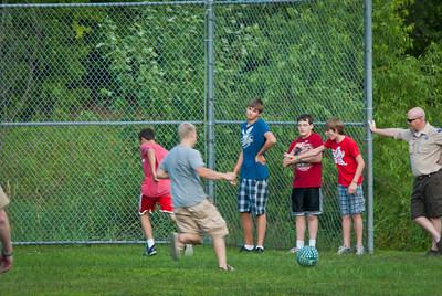 Kickball, August 2013