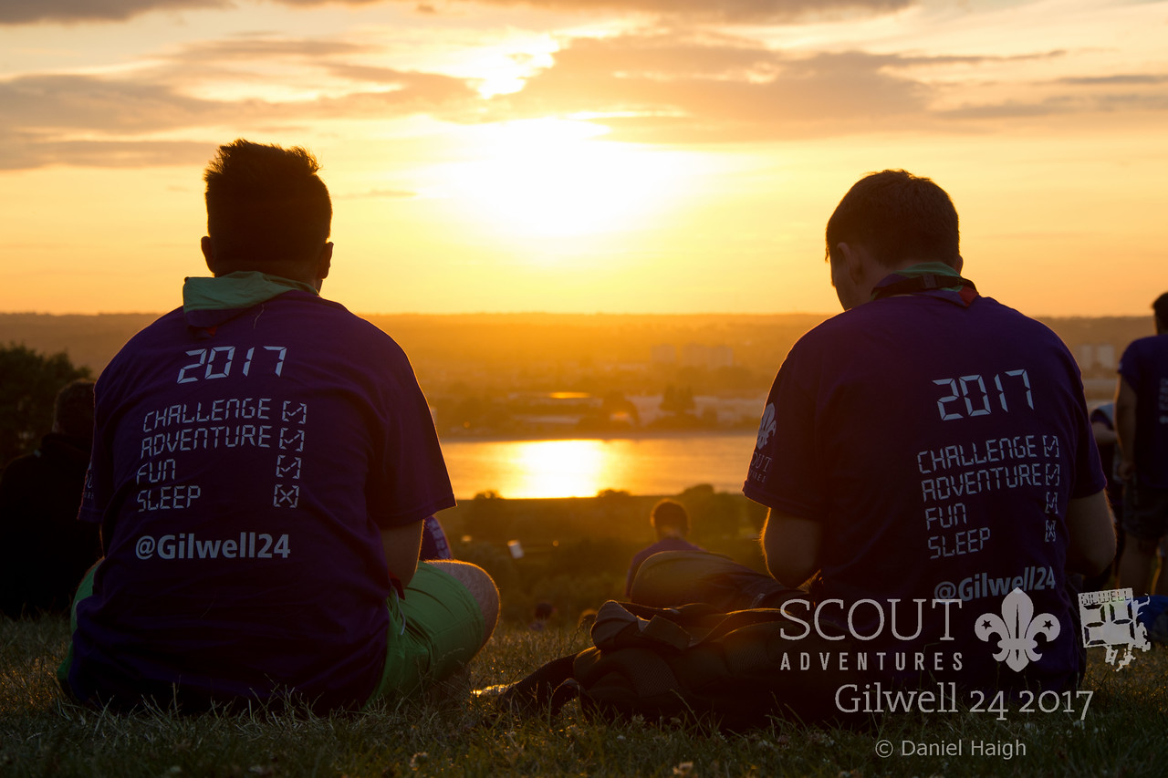 Gilwell 24 Sunset