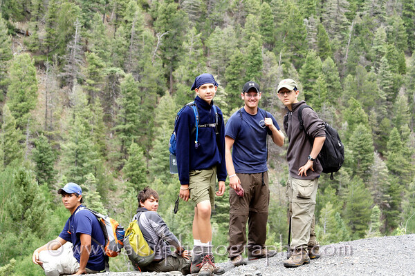 Philmont Day 7.  The Seventh Day.  (Ewells Park)