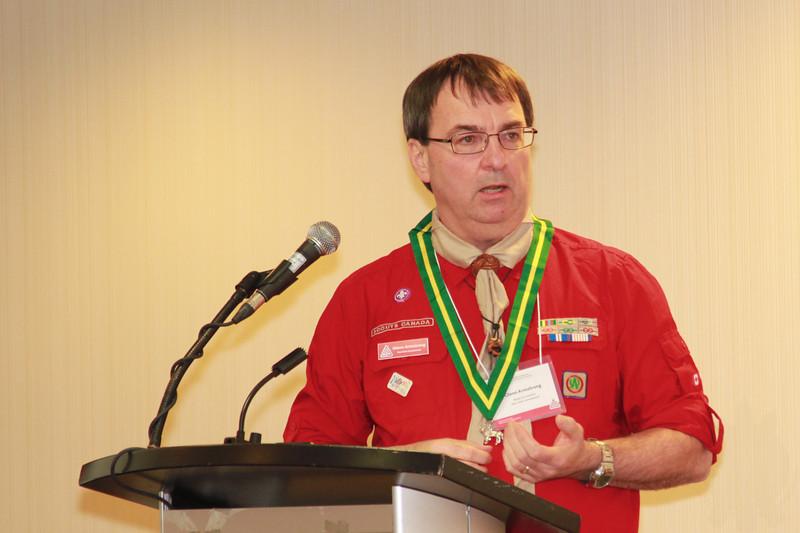 2012 AGM and awards presentation.