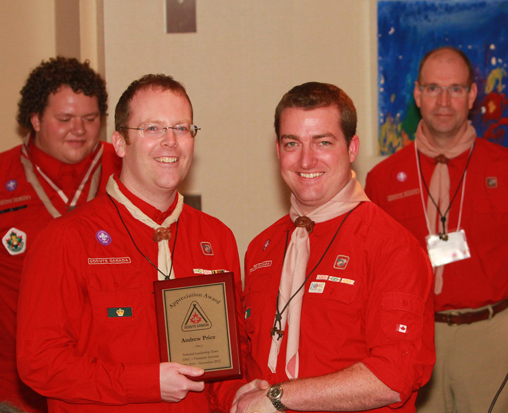 2012 AGM and awards presentation.