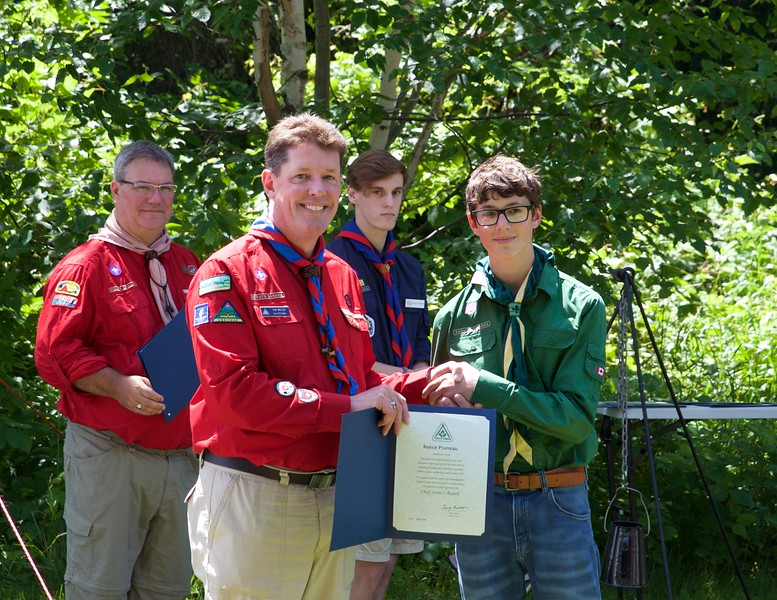Voyaguer Council Chief Scout Awards 2015