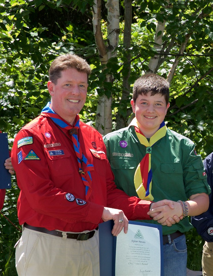 Voyaguer Council Chief Scout Awards 2015