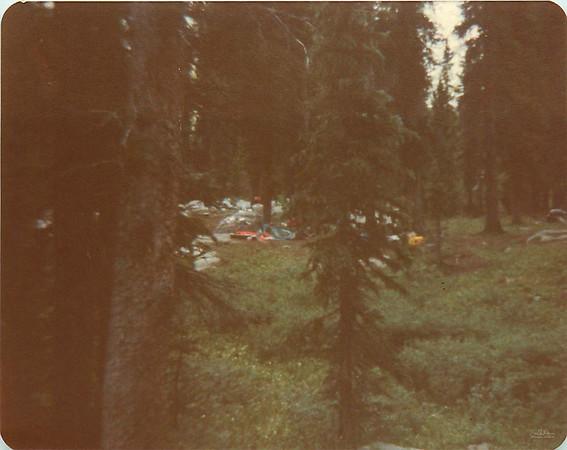 Camping at Flint Lake