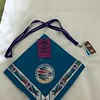 My necker, ID tag and food tags