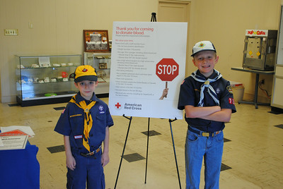 """Scouting for Life"" Mascaro Memorial Blood Drive 2014"