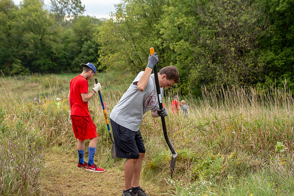 Andrew Sarych Eagle Scout Service Project-Part 1
