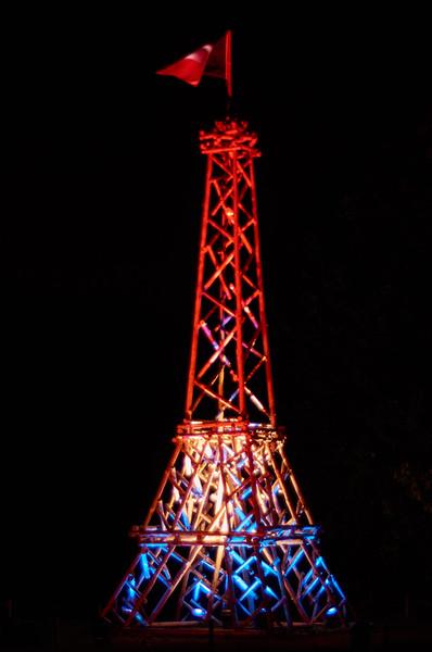La Tour Eiffel à 5h du matin