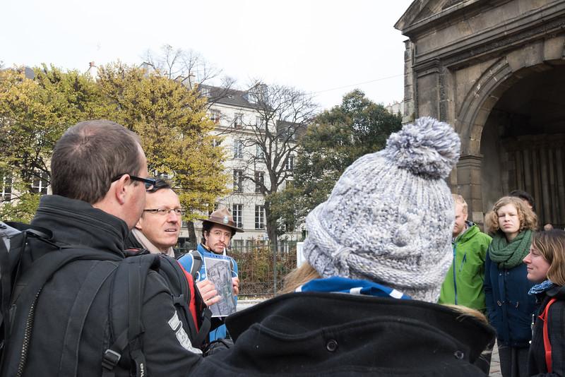 Visite touristique de Paris