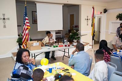 Jordan's Blue & Gold Banquet @ St Paul Baptist Church 3-10-16