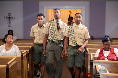 Lee Campell's Eagle Scout Induction Ceremony @ St Paul Baptist 1-4-20 by Jon Strayhorn