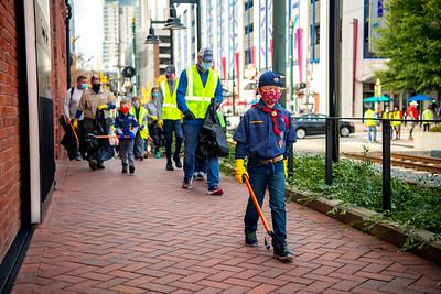 Operation Clean Sweep Boyscouts 11-14-2020 by Jon Strayhorn