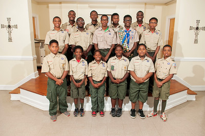 Troop 25 @ St Paul Baptist Church 8-7-17 by Jon Strayhorn