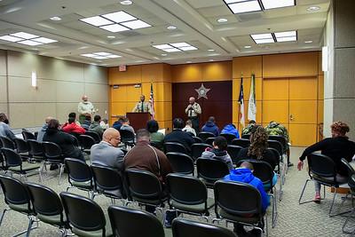 Troop 25 Mecklenburg Sheriff Dept Tour 4-1-19 by Jon Strayhorn