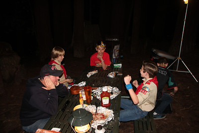 2013-03-15 Boy Scout and New Scout - Big Basin Campout