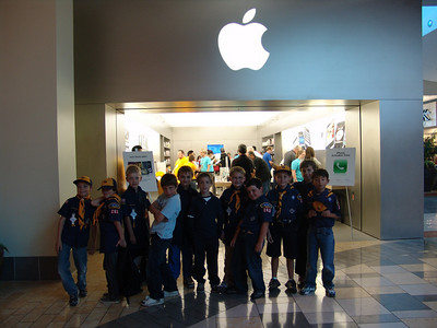 Cubs Apple Store 10-14-09