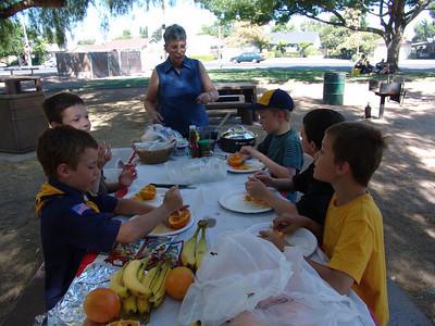 Outdoor Cooking 7-14-10 Cahalan Park