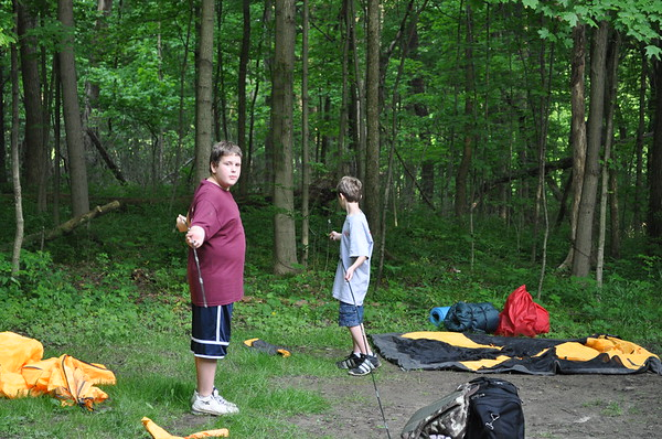 2011-05 Webelos at Camp Hook
