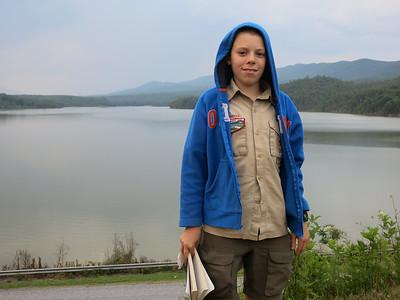 Lake Merriweather. Goshen Scout Reservation. Goshen, VA June 30, 2015