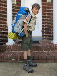 Leaving for Goshen Scout Reservation