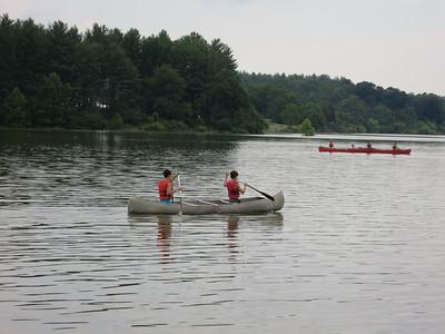 Canoeing on Lake Merriweather