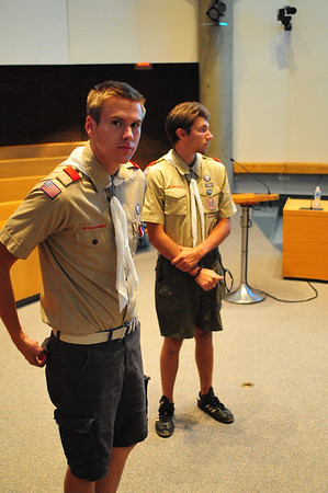 2015-08-04 Flag Ceremony at City Council Meeting