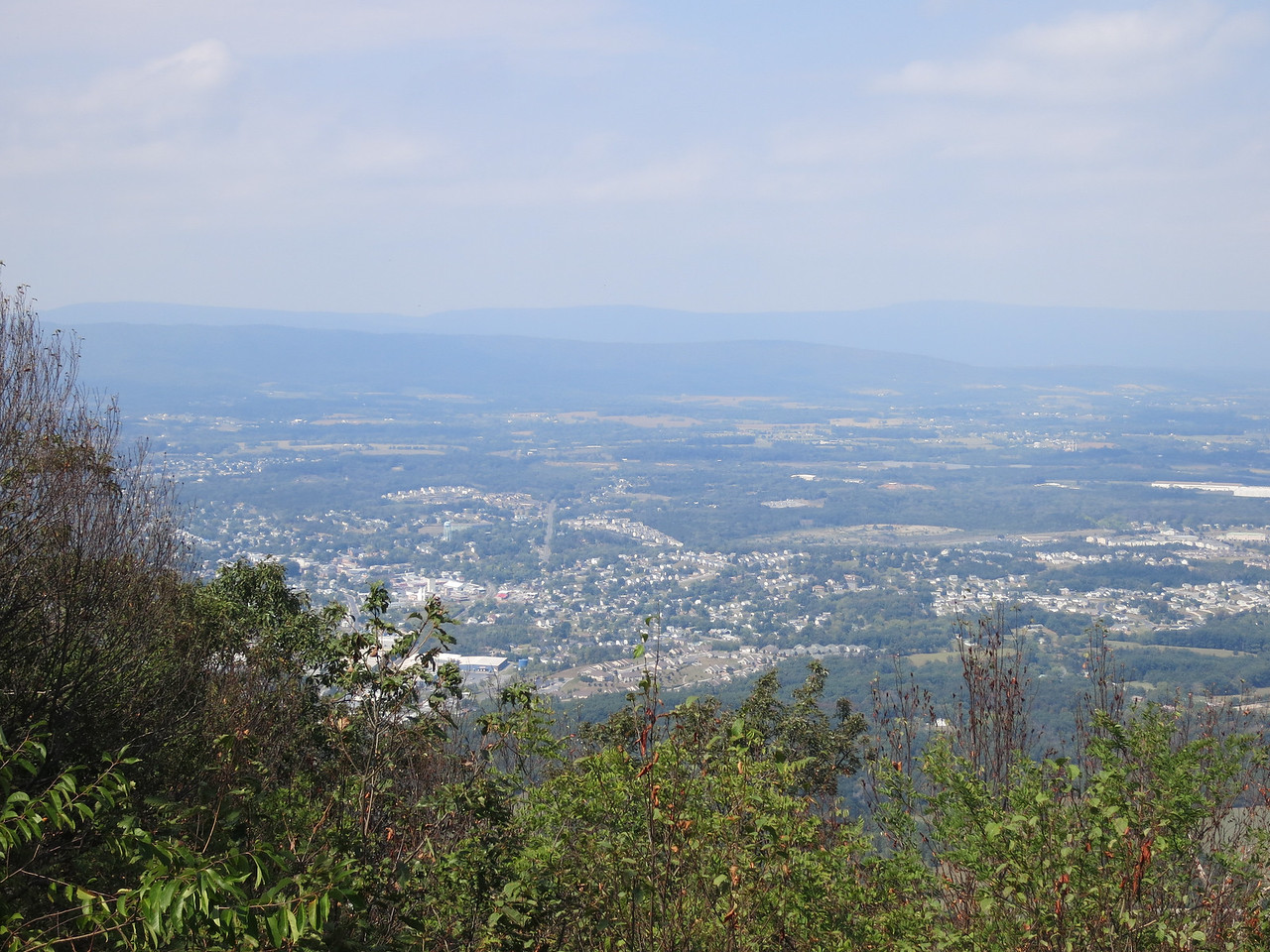 Signal Knob, the northernmost point of Three Top Mountain, overlooks Strasburg and is 2110 ft. above sea level. During the Civil War, both sides used it as a signal station, but the Confederate signal corps occupied it almost continuously from 1862 to 1864.