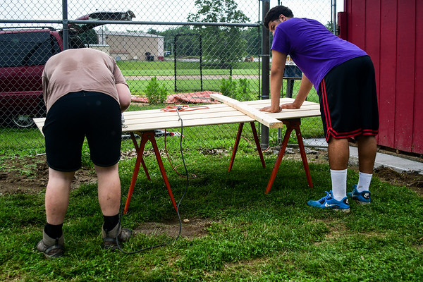 2017-07-01 Leo Bell's Eagle Scout Project
