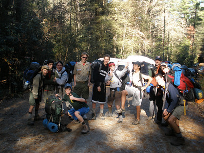 AT Backpacking November 2009