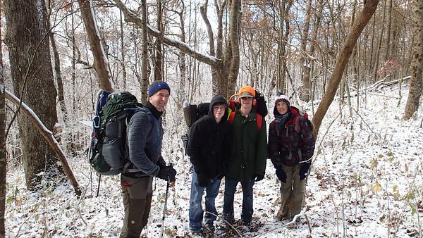 AT Hike November 2014