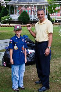 Christopher and Mayor Mazzarella