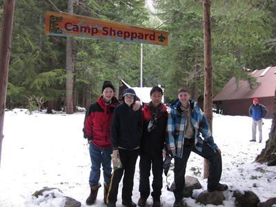 Camp Sheppard February 3-5 2012