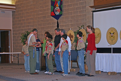 Court of Honor Troop 201