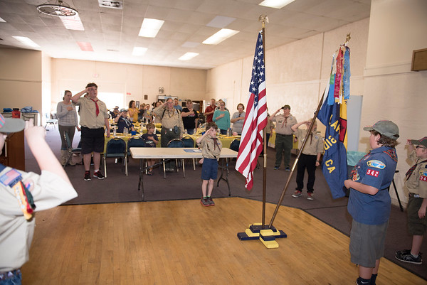 Cub Scouts:  Pack 342 Blue and Gold 2017