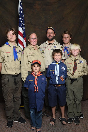 BSA: Pack 342 Blue and Gold 2018
