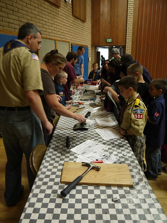 Pinewood Derby 2012