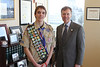 Attorney General Rob McKenna with Sammamish Troop 751 Eagle Scout Justin Pacholec.