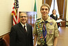 Lt Governor Brad Owen with Eagle Scout Justin Pacholec (8269)