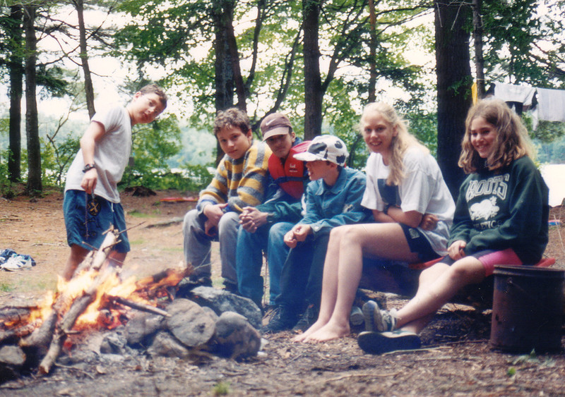 Canoe Camp, Saranac Lakes (year unknown?)