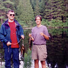 1997 - Week Long canoe camp, Parc de la Mauricie