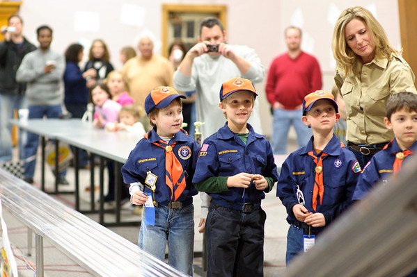 Pinewood Derby - 2011