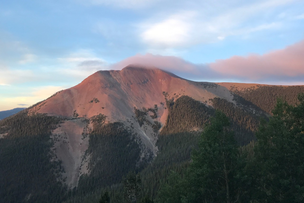 EARLY start for Baldy summit
