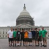 In front of the Capitol Building
