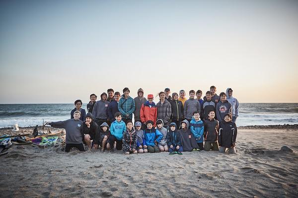 Beach Camp 4/7/2017