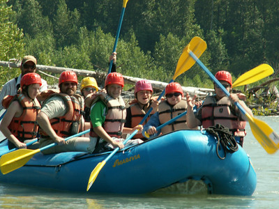Whitewater Rafting Oregon July 9-13 2012