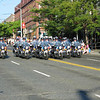 SPD motorcycle display team